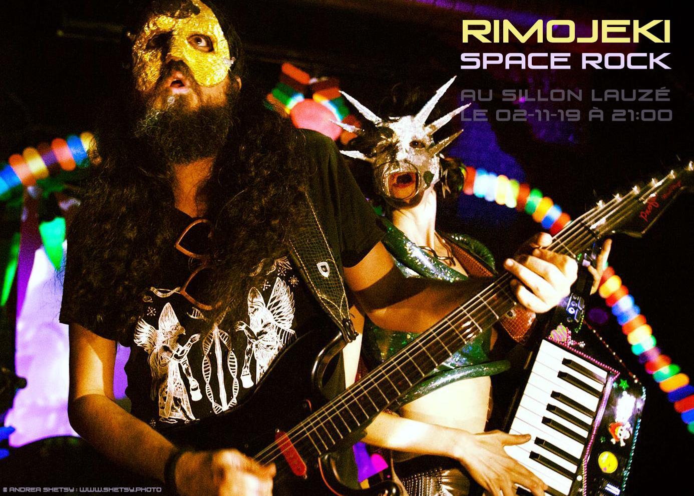Rimojeki en concert le samedi 02 novembre 2019 au Sillon Lauzé (Marvejols)